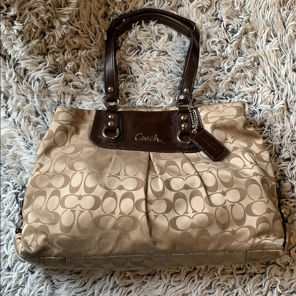 1fc606170a Coach Bags | Ashley Carry All Bag | Poshmark